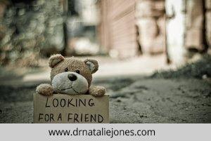 A Sad Teddy Bear